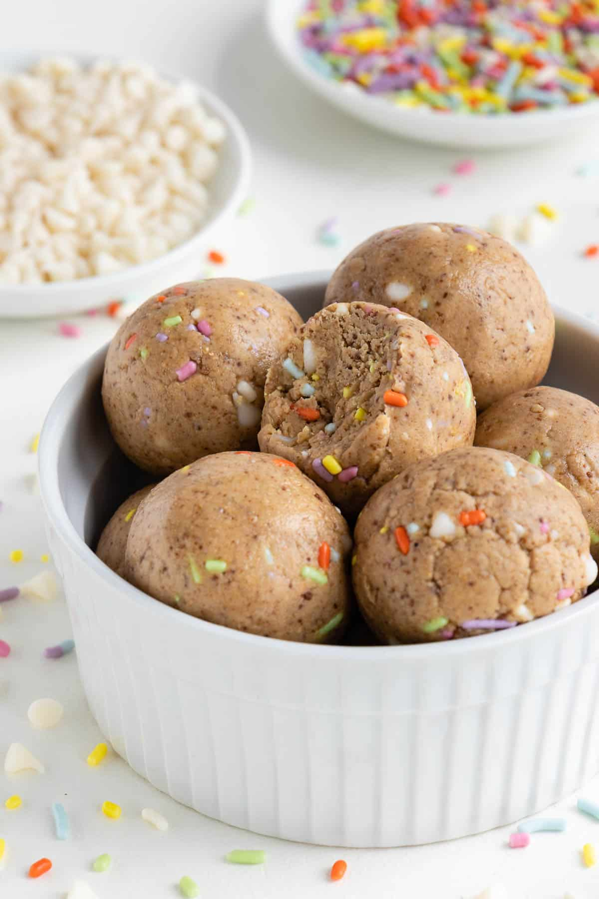 Magnificent Birthday Cake Energy Balls Purely Kaylie Personalised Birthday Cards Veneteletsinfo